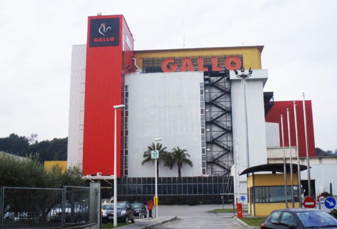 Instalaciones de Pastas Gallo.