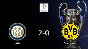 El Inter Milan gana 2-0 al Borussia de Dortmund en el Giuseppe Meazza
