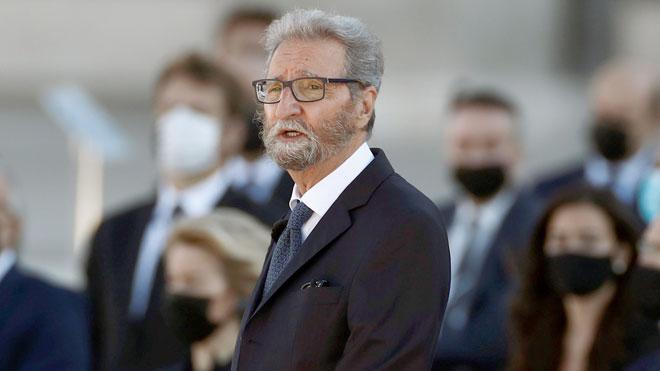 Intervención de Hernando Fernández Calleja en el acto de homenaje a las víctimas del coronavirus.