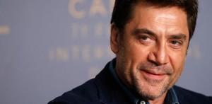 Javier Bardem, en la rueda de prensa de presentación de Todos lo saben, en Cannes.
