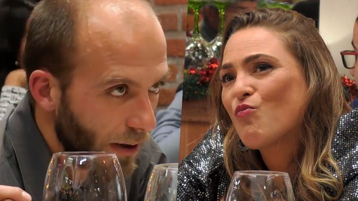Jordi y Tania en 'First Dates'.