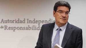 José Luis Escrivá, presidente dela AIReF.