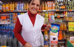 María Rrebolo, del mercado del Besòs.