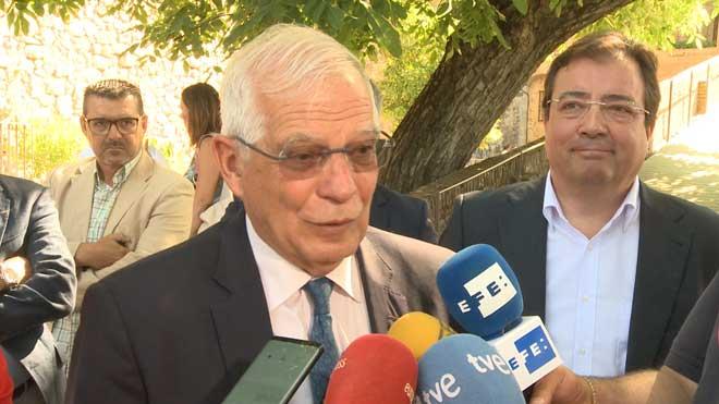 Josep Borrell: Ni Catalunya tiene embajadas ni Exteriores, espías.