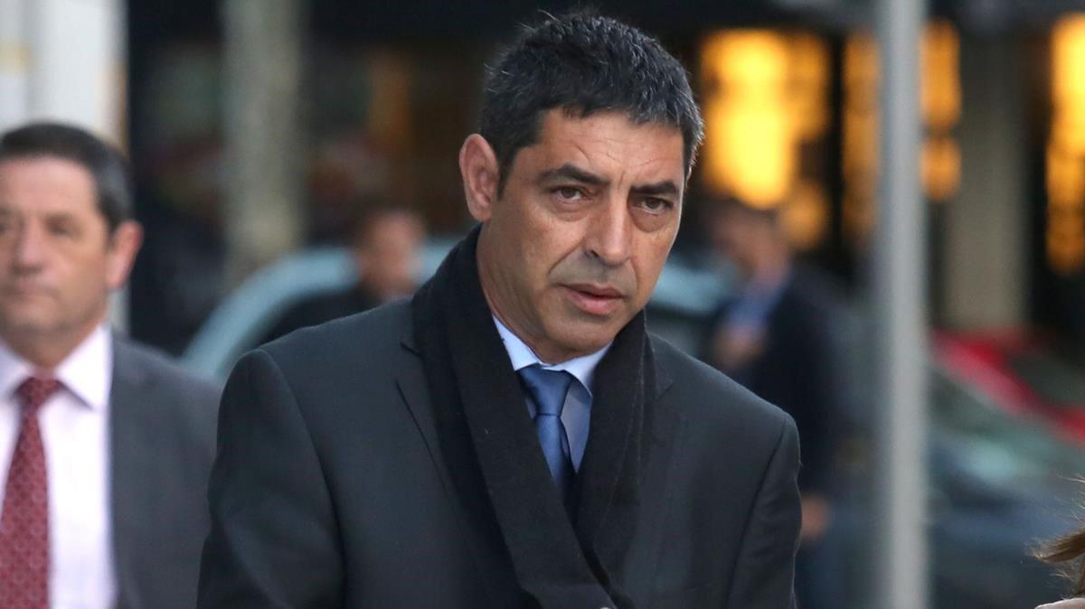 Josep Lluís Trapero en una imagen de archivo.