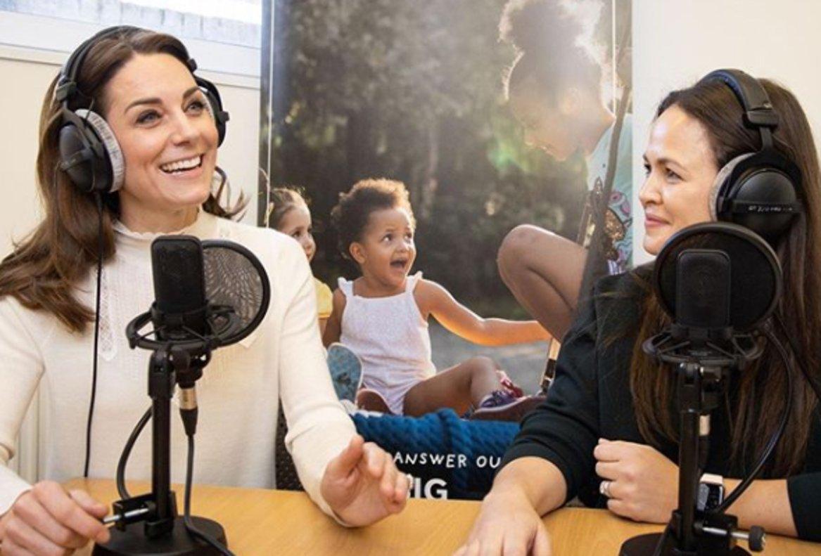Kate Middleton, en el programa de radio 'Happy mom, happy baby'.