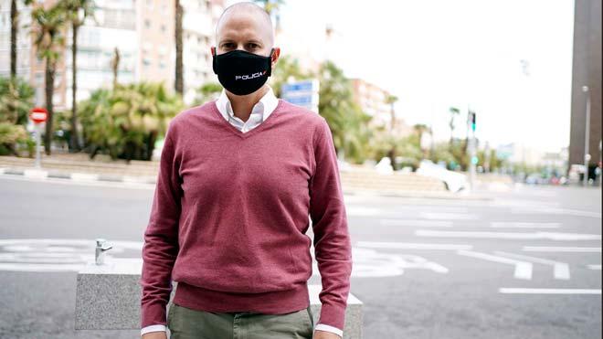 Entrevista a José Alberto Negri , portavoz del sindicato de policíaCEP.