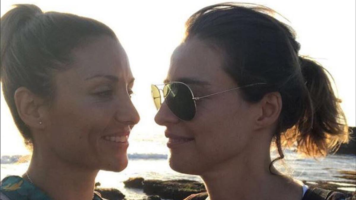 Sandra Berneda y Nagora Robles.