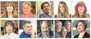 Los diez finalistas del Català de lAny.