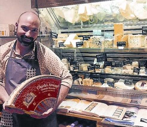 Luc Talbordet, de la formatgeria Can Luc.