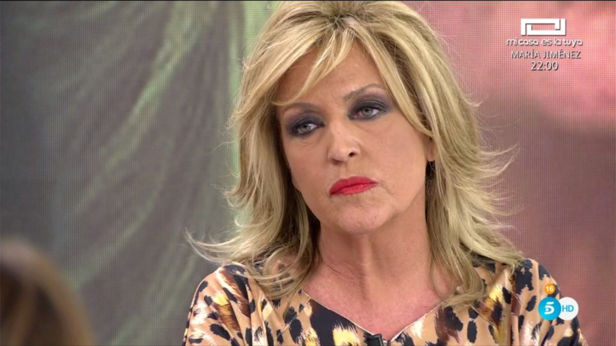 Lydia Lozano en 'Sálvame'.