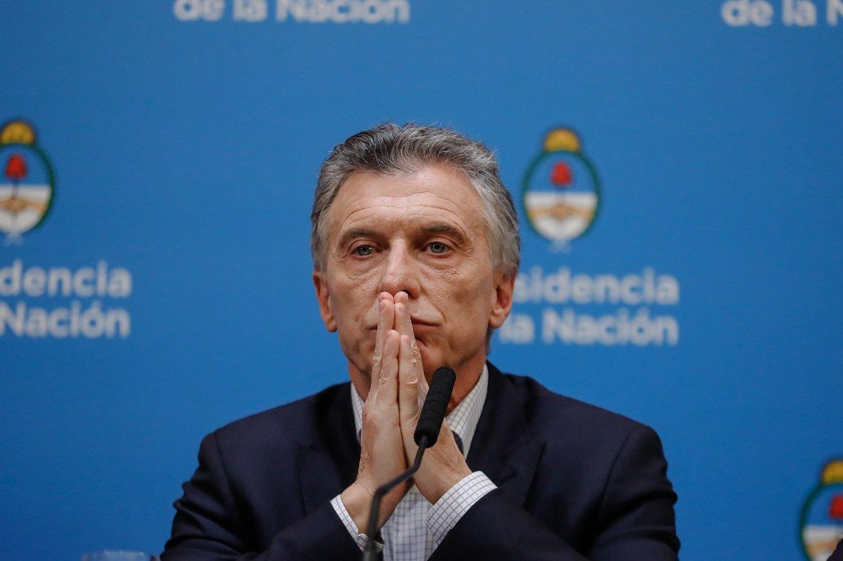 El presidente de Argentina,Mauricio Macri.