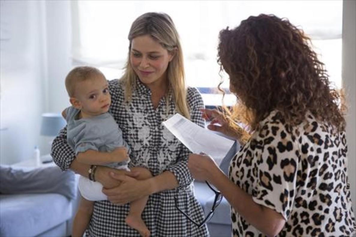 Madres y bebés son los protagonistas de Instamoms.