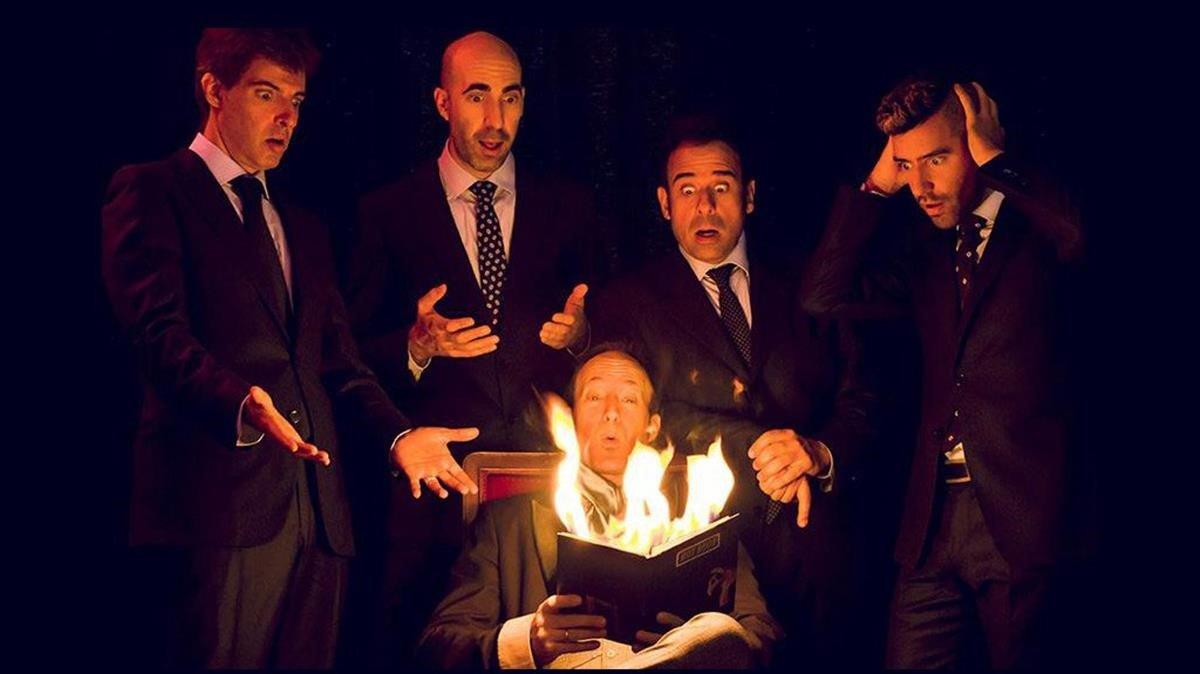 Los integrantes de 'Magic Gospel'. Los podrás ver en el escenario del CaixaForum.