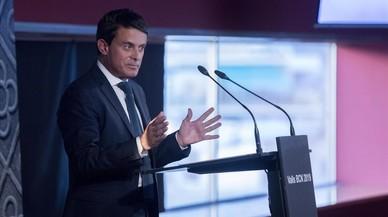 Valls dice contar con el apoyo de Macron en sus aspiraciones a la alcaldía de Barcelona