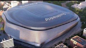 El Madrid presenta detalls del nou Bernabéu