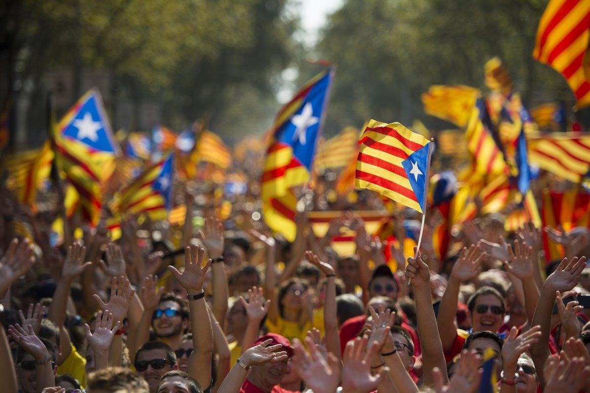 Nace 'Tsunami Democràtic' para impulsar la desobediencia civil como respuesta a la sentencia del 1-O