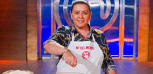 María del Monte, en la cocina de Masterchef celebrity.