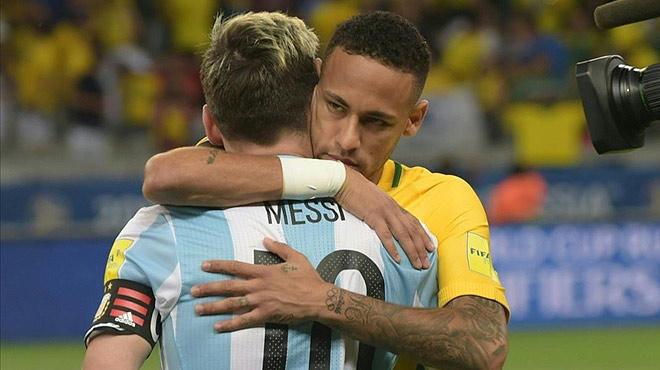Messi da la cara tras la goleada de Brasil a Argentina.