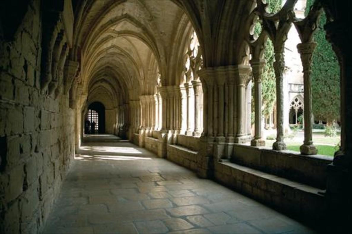 Monasterio de Poblet, en la Conca de Barberà.