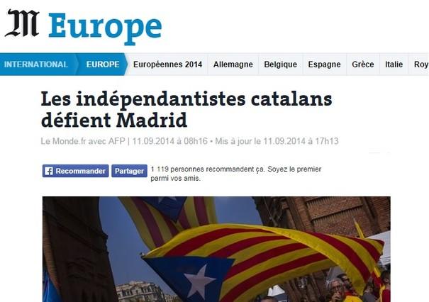 Le Monde recuerda que lo importante son las urnas.