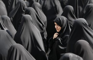 Mujeres iraníes en Teheran.