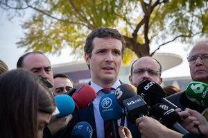 Pablo Casado, tras visitar el Mobile World Congress.