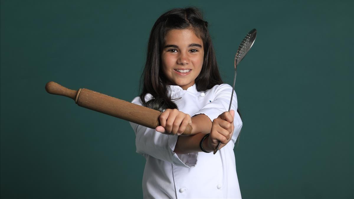 Paula Alós, la nueva presentadora de 'Un, dos, ¡chef!'