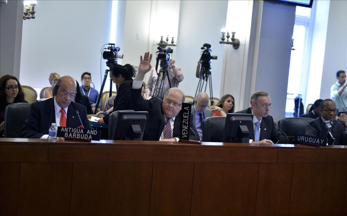 Reunión de la OEA.
