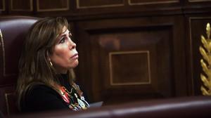 Alicia Sánchez-Camacho, en el hemiciclo del Congreso, en diciembre pasado.