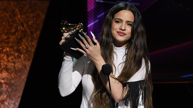 Rosalía guanya el Grammy al millor disc llatí de rock, urbà o alternatiu amb 'El mal querer'
