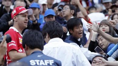 Vettel vuelve a ser más rápido que Hamilton en Japón