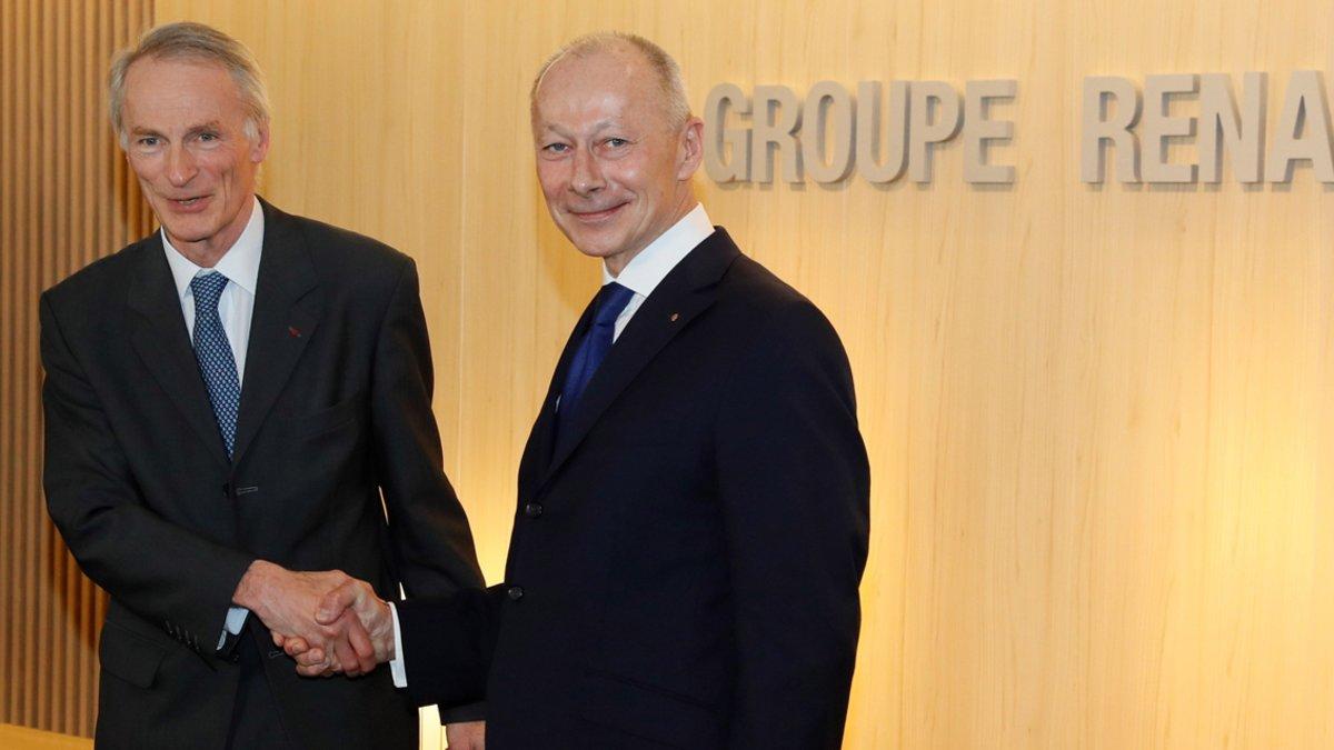 Jean Dominique Senard (izquierda) y Thierry Bolloré tendrán un lugar asegurado en los comités de Nissan.