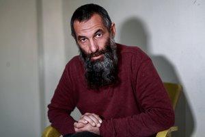 Alexandr Ruzmatovich Bekmirzaev fuedetenido por las Fuerzas Democráticas Sirias (FDS).DELIL SOULEIMANAFP