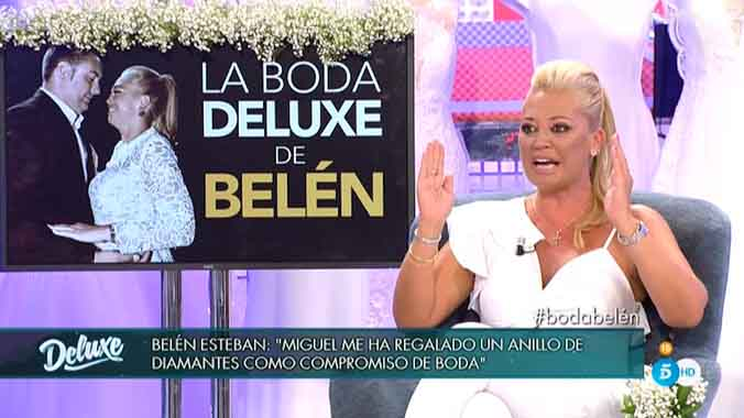 Belén Esteban, en Sábado Deluxe (T-5).