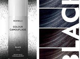 MontibellopresentaColour Camouflage, un producto que retoca y embellece tu cabello con efecto natural.