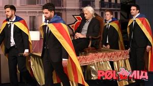 Imagen de uno de los gags del programa de sátira política de TV-3 Polònia.