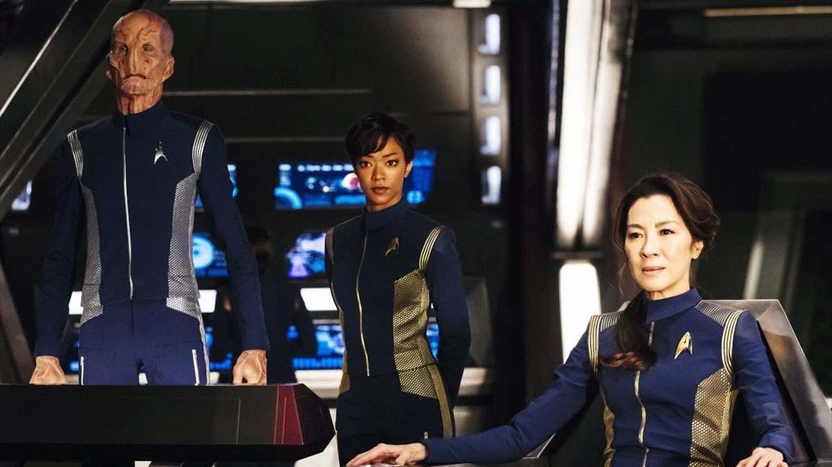 Imagen de la serie Star Trek: Discovery, producción que en España emite la plataforma Netflix.