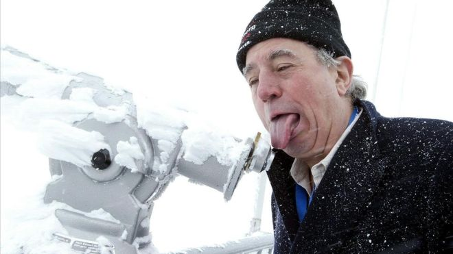 Terry Jones, en Suiza, en el 2005