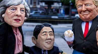 La tempestad llega al G-7