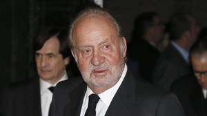 El rey emérito Juan Carlos.