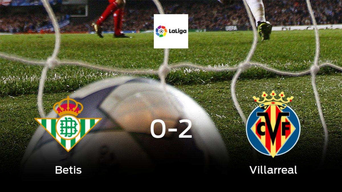 El Villarreal vence 0-2 en el feudo del Real Betis