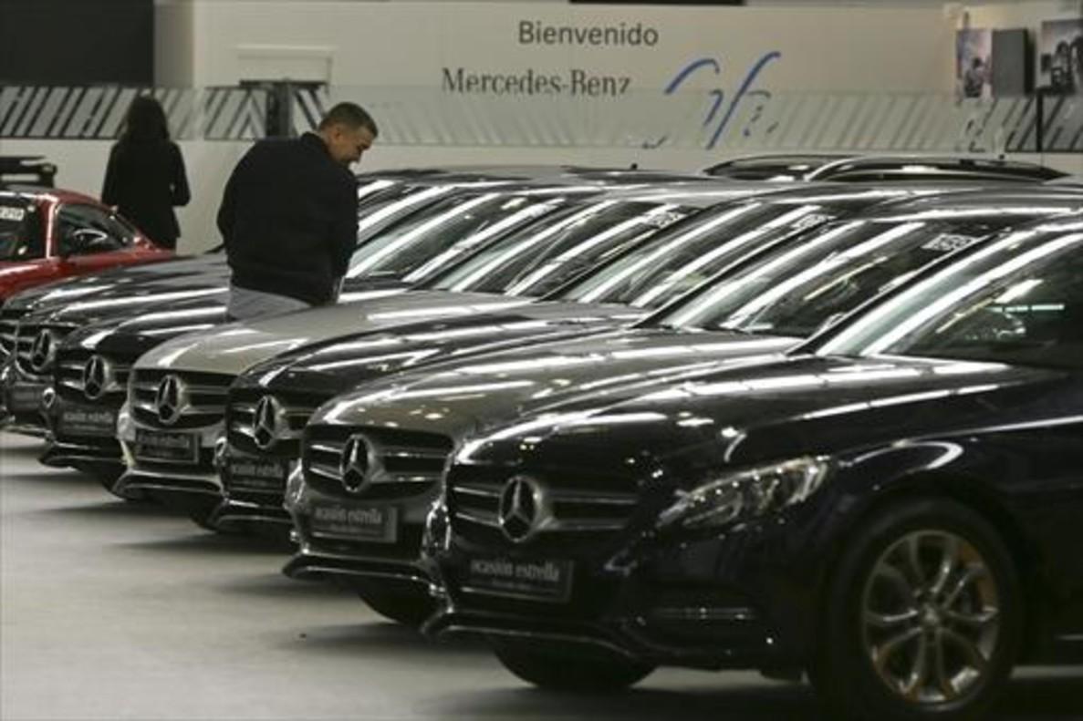 El mercado de vehículos de ocasión cayó un 64,9% en mayo