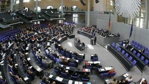 Vista general de una sesión parlamentaria del Bundestag, en Berlín, en septiembre del 2016.