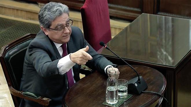 Les deu frases més destacades de Millo en el judici del procés