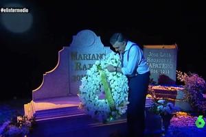 """Wyoming se despide de Rajoy en su tumba: """"'El Intermedio' no te olvida"""""""