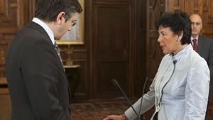 Celaá buscarà el pacte d'Estat per l'Educació i el respecte a les llengües cooficials