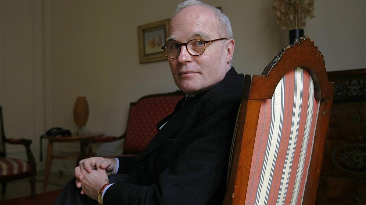 El editor Jaume Vallcorba, fundador, en 1979, de Quaderns Crema.