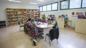 Alumnos del instituto escuela Trinitat Nova de Barcelona, uno de los centros que incorpora nuevas metodologías.