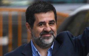 Jordi Sànchez demana permís al Suprem per anar a l'audiència amb el Rei